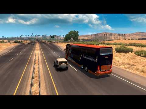 American Truck Simulator Bus trip to Billings with Modasa Zeus 3 part1