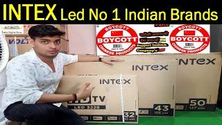 Intex Smart 124cm 50 inch Full HD LED TV LED-SF5004 Only Indin Brand