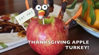 THANKSGIVING APPLE TURKEY