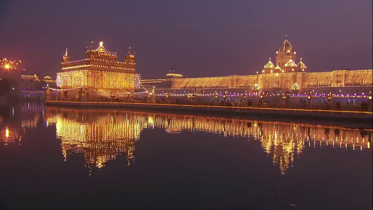 amritsar golden temple hd version 1080 2017 - youtube
