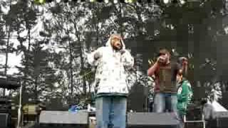 """Mighty Underdogs (Gift of Gab/Lateef) """"A to G"""" Live @ San Francisco Outside Lands Festival 8.24.08 Blackalicious"""