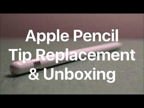 Remove broken apple pencil tip