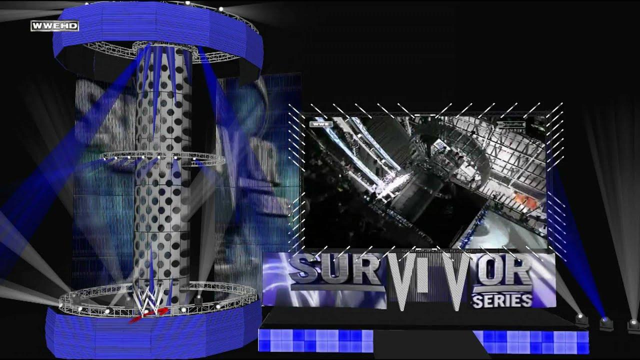 wwe survivor series 2009 hd stage model 1080p full hd