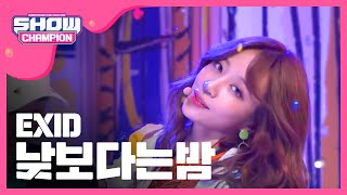 Show Champion EP.224 EXID - Night Rather Than Day