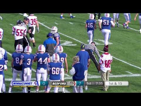 Bedford High School Football DI Quarter-Final Game - Bedford vs Winnacunnet 11-4-17