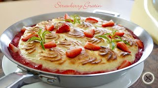 Strawberry Gratin🇺🇸🇫🇷Bruno Albouze – THE REAL DEAL