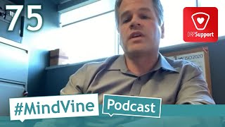 #MindVine Podcast Ep. 75 - DRPSupport App Launches on #BellLetsTalk