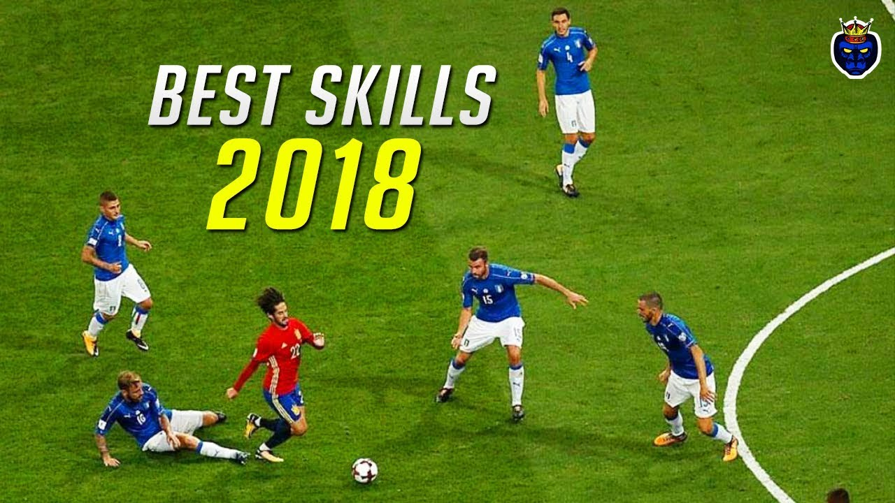 best football skills 2017  2018 part 1