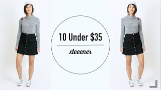 10 Style Basics Under $35   Mix and Match Outfits!