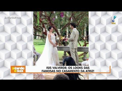 Juliana Paes é Criticada Por Vestido Em Casamento De Isis Valverde