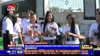 Aksi Relawan Prabowo-Hatta di Bali dan Bogor
