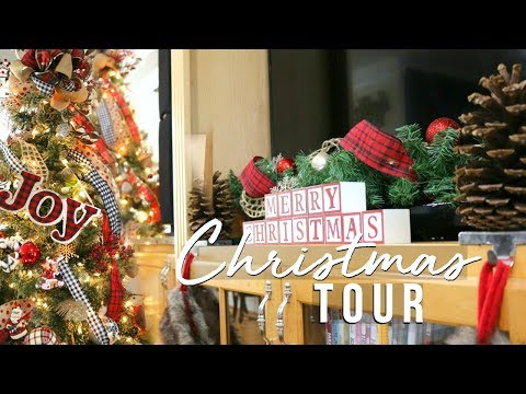 CHRISTMAS HOME TOUR 2017  CHRISTMAS FARMHOUSE DECOR ON A BUDGET!!  Page Danielle