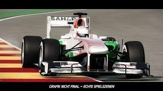 "F1 2013 | ""Spa Francorchamps"" Heisse Runde (Tutorial) | DE"