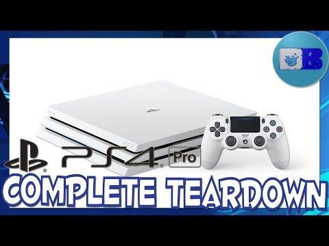 How to take apart PS4 Pro - Complete Teardown