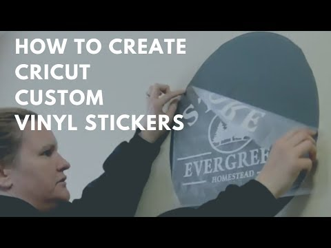 How to make bumper stickers with cricut