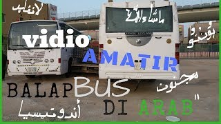 VIDIO AMATIR!!! BALAP BIS DI ARAB