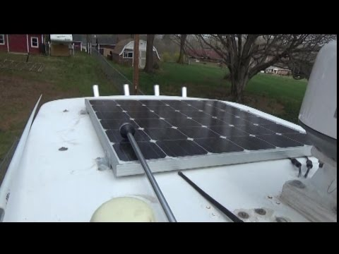 How to install:   Onboard Solar Powered Battery Charger & Tender for Boat or Camper