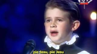 Weber A.L. - Pie Jesu (Sarah Brightman) [sub].avi