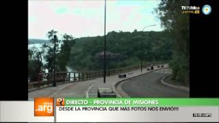 Vivo en Arg - Misiones, Puerto Iguazú - 30-12-13 (1 de 5)