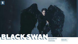 Baixar BTS - Black Swan | Line Distribution (Color Coded)