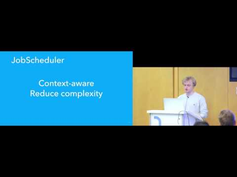 Droidcon NYC 2016 - JobScheduler is the Unavoidable Better Future