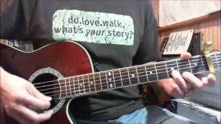 We Glorify Your Name - Christy Nockels - Passion 2013 guitar instructional