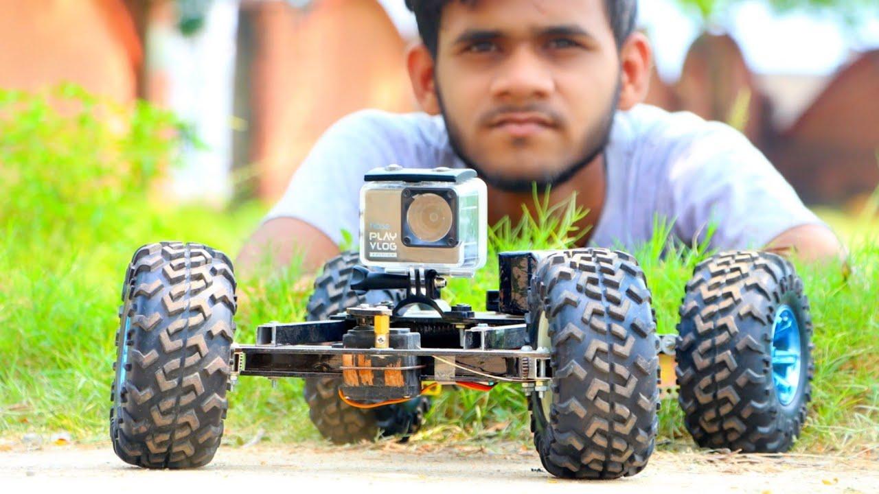 how to make a remote control car with camera    Hi Tech xyz