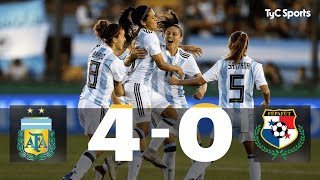 Download Video Argentina 4-0 Panamá: Repechaje Ida Mundial Femenino Francia 2019 MP3 3GP MP4