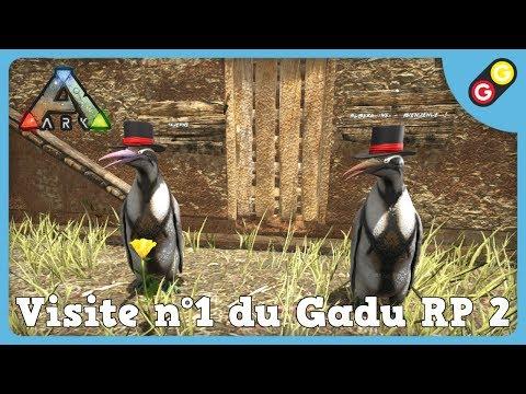GG - ARK : Survival Evolved - Visite n°1 du Gadu RP 2 [FR]
