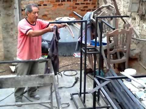 Manuel zavaleta trabajos para llacuabamba youtube for Ganchos metalicos para percheros