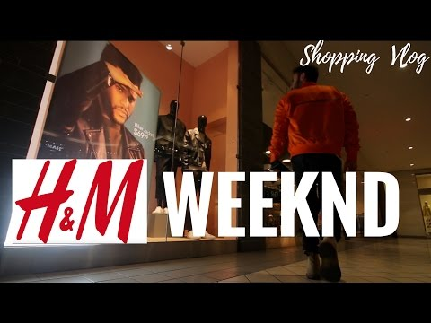 100$ H&M X WEEKND CHALLENGE AND REVIEW + DIY SPRAY SHIRT