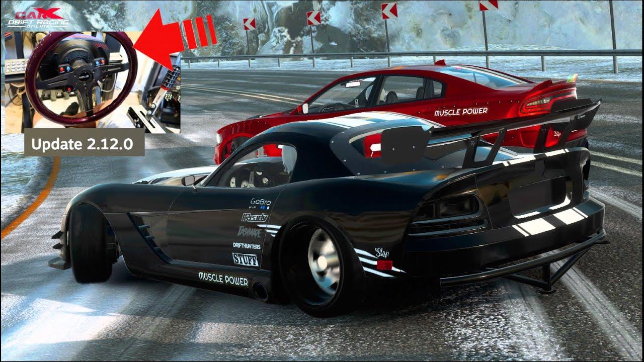 CarX Drift Racing GETS Playstation UPDATE!! 1300hp Dodge Viper Wheel Build