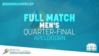 MOL/SORUM (NOR) vs VARENHORST/BOUTER (NED) | Full Match | #EuroBeachVolley 2018