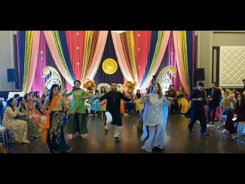 Best Mehndi Dance 2018