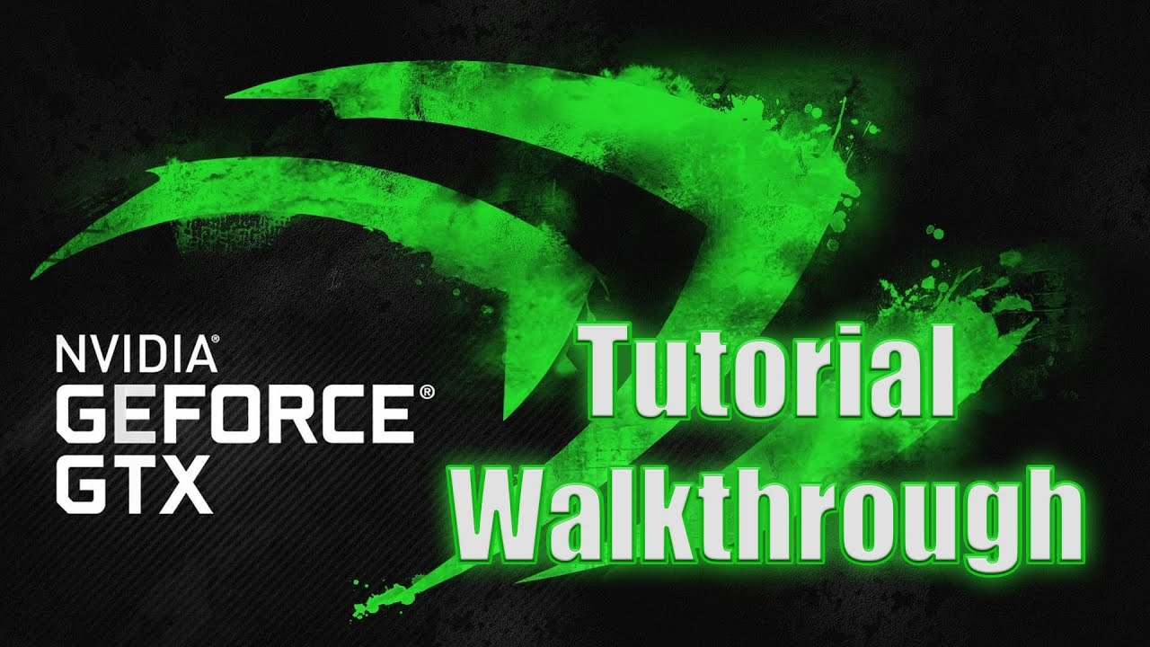 How to use and Optimize your FPS for PC Gaming: NVIDIA GeForce Experience {Updated}