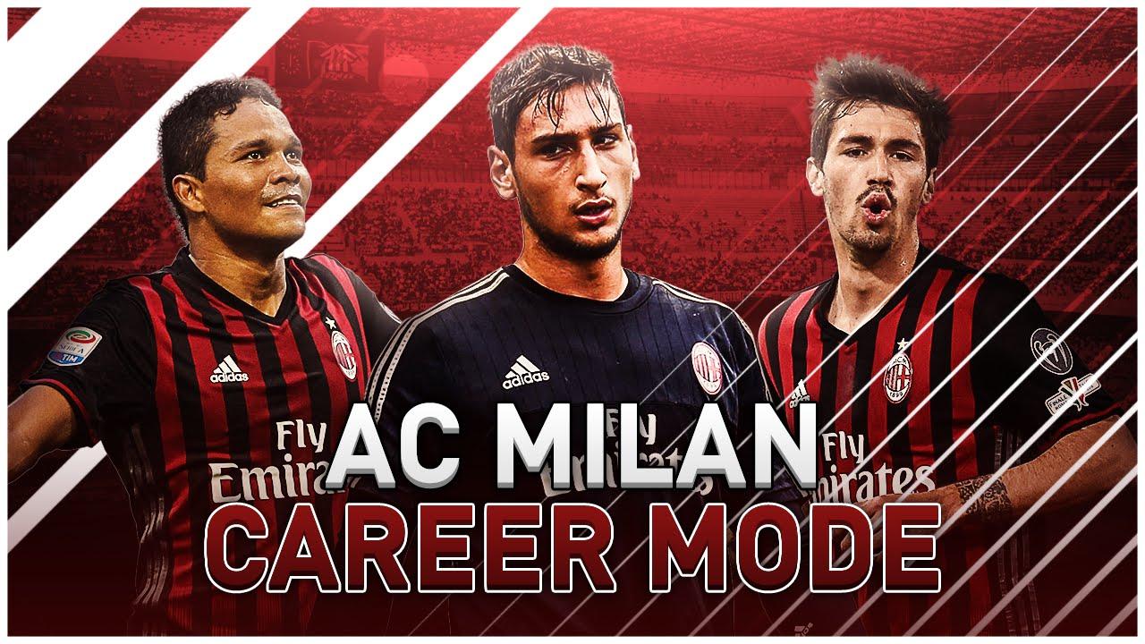 Fifa 17 ac milan career mode s1e1 we 39 re back youtube for Fifa 17 milan