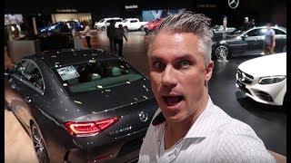 Nieuwe Mercedes CLS op Autosalon Brussel