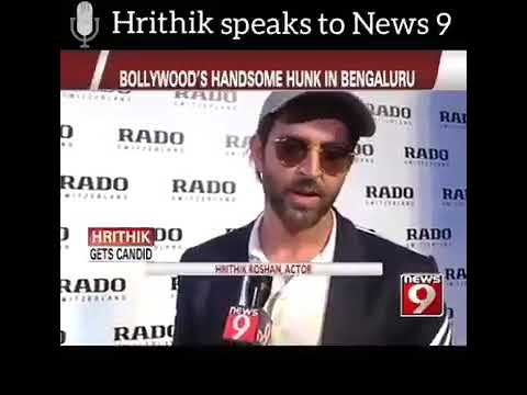 Hrithik speaks about city of Bangalore, his take on fashion and fitness and his next movie venture