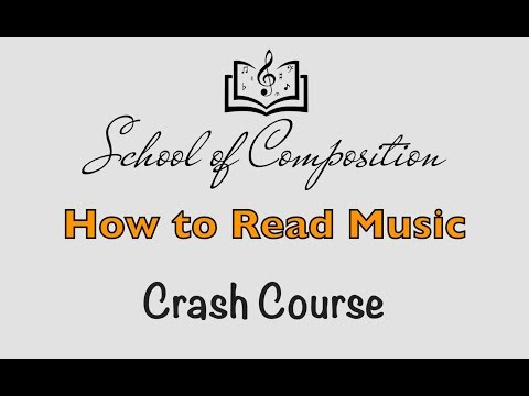 How to Read Music - Crash Course (with Workbook)