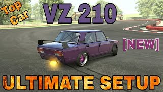 VZ 210 Ultimate Setup + Test Drive! (VAZ 2107)   TOP CAR   CarX Drift Racing