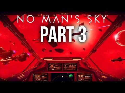 No Man's Sky Walkthrough Part 3 - SPACE COMBAT ... I FAILED (PS4 Gameplay)