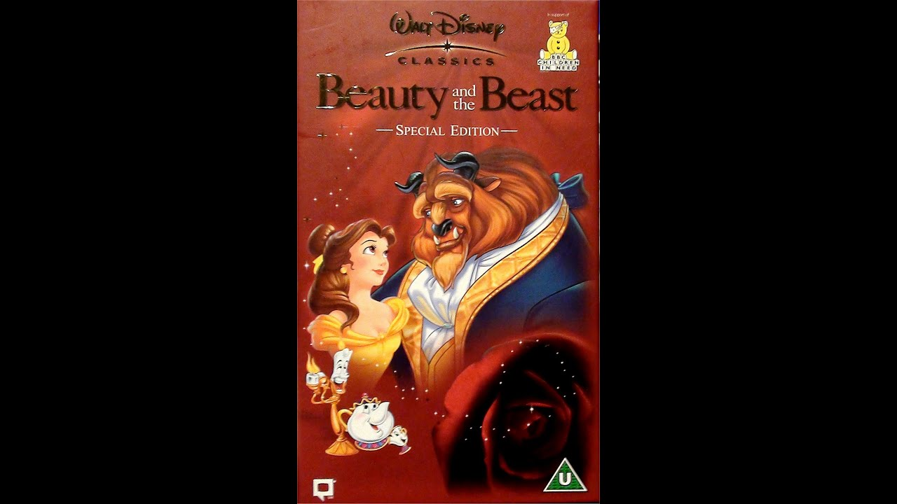 Beauty And Beast Special Edition Vhs 2002