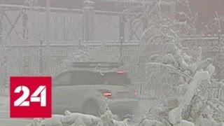 Якутию ждет 62-градусный мороз - Россия 24