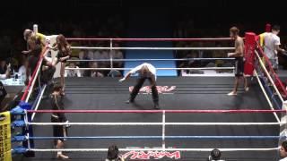 (7.7.2012 ディファ有明 第6試合) WARU下克上 -70kgワル日本一決定ト...