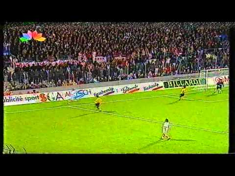28.09.95 EUROPEAN CUP WINNERS FC SION - A.E.K. ATHENS 2-2