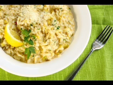 How to Make Quick Italian Leek Risotto