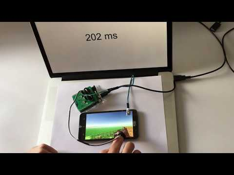 Characterizing Latency in touch and Button-Equipped Interactive Devices