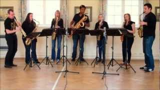 The Londonderry Air (Danny Boy) – saxophone ensemble (septet)