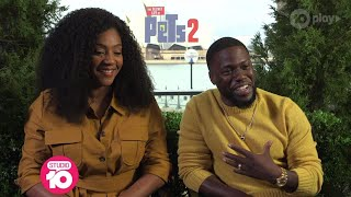 Tiffany Haddish & Kevin Hart Meet Mini-Movie Buff Ollie | Studio 10