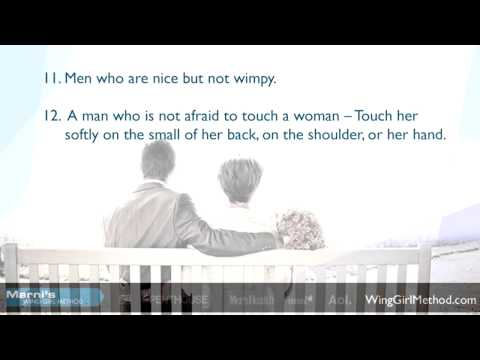 20 Things That Attract Women
